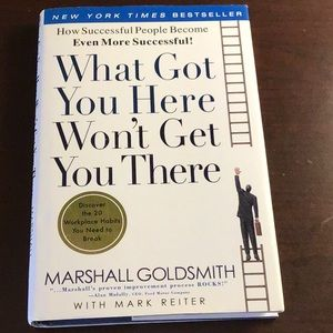 Business book/What got you here wont get you there
